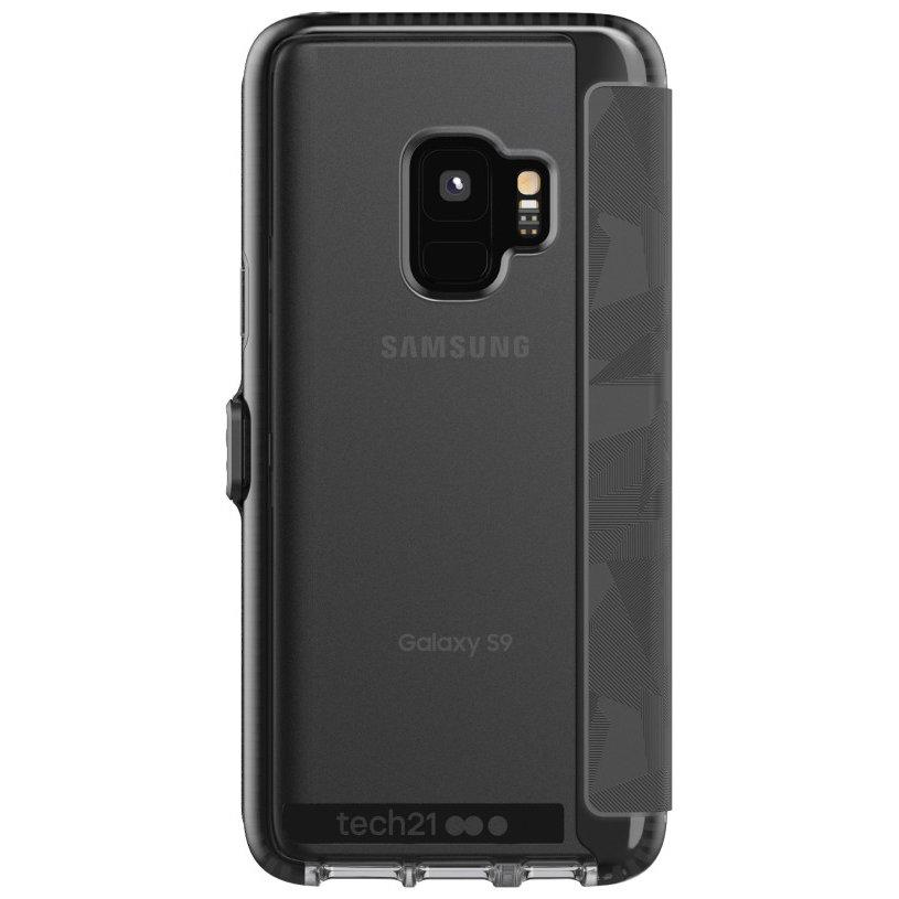 Tech21 Evo Wallet Samsung Galaxy S9 Case - Black