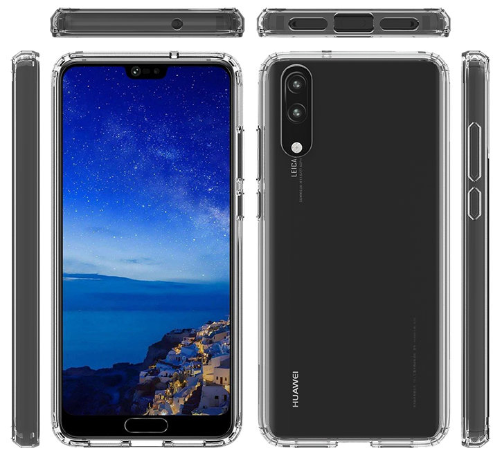 Olixar ExoShield Tough Snap-on Huawei P20 Case - Crystal Clear
