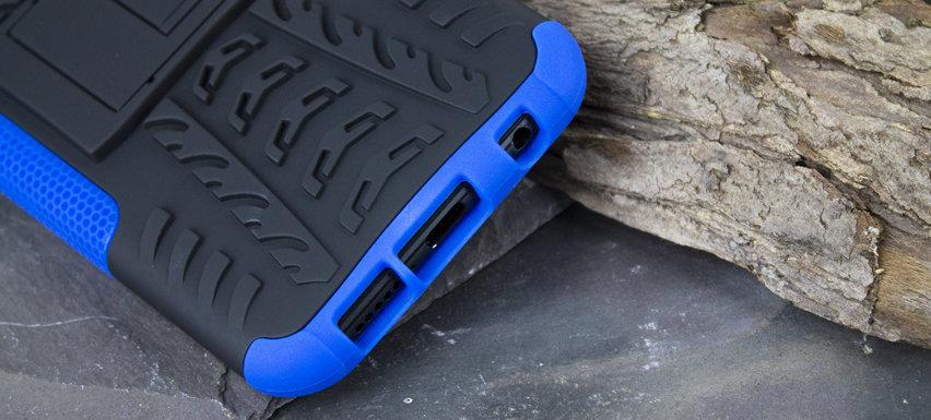 Olixar ArmourDillo Huawei P20 Lite Protective Case - Blue