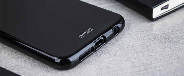 Olixar FlexiShield Huawei P20 Lite Case - Solid Black
