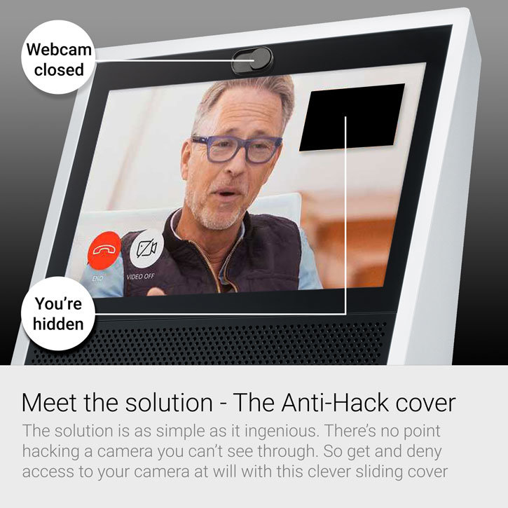 Olixar Anti-Hack Webcam Cover for Amazon Echo Show