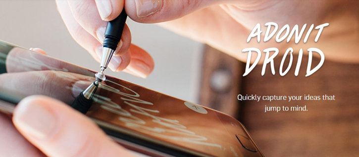 Adonit Droid Precision Stylus for Android Smartphones - Black