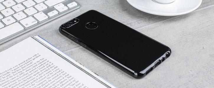 Olixar FlexiShield Huawei P Smart Gel Case - Solid Black