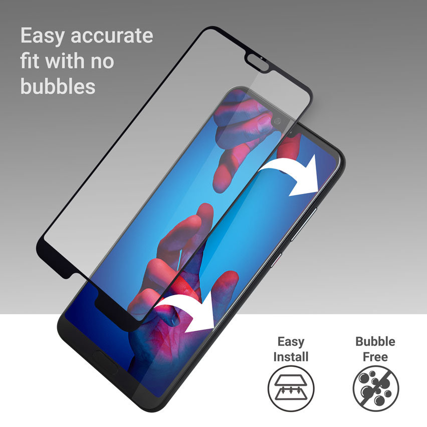 Olixar Huawei P20 Tempered Glass Screen Protector