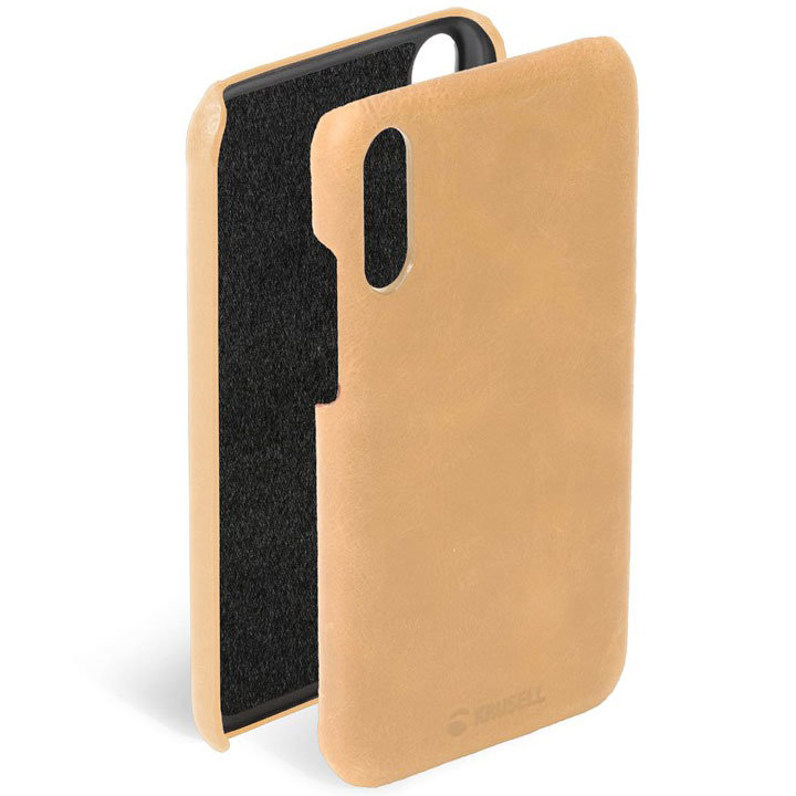 Krusell Sunne Huawei P20 Pro Leather Case - Nude