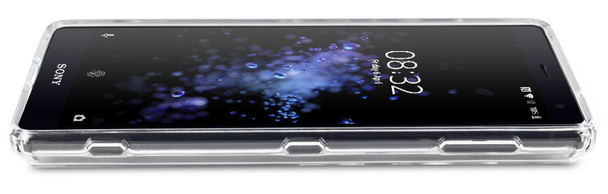 Krusell Kivik Sony Xperia XZ2 Shell Case - 100% Clear