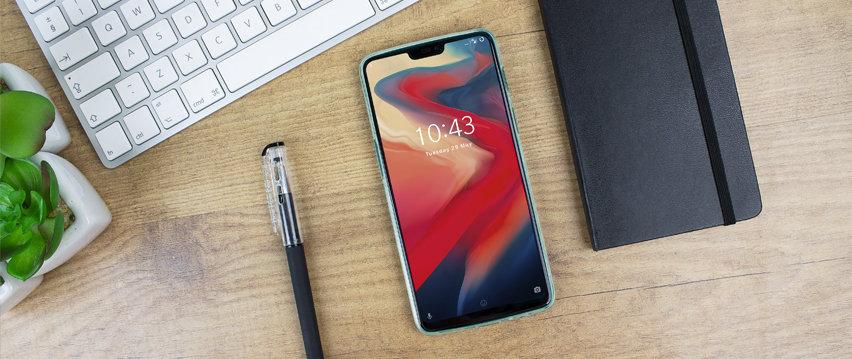 Olixar FlexiShield OnePlus 6 Gel Case - Blue