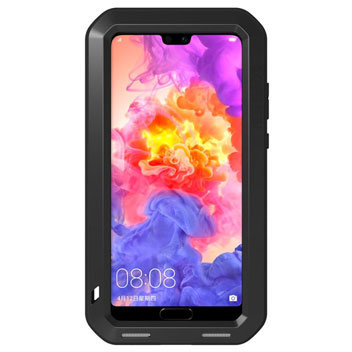 Love Mei Powerful Huawei P20 Pro Protective Case - Black