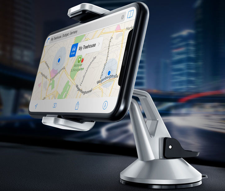 VRS Design Hybrid Grab Mini Universal In-Car Mount - Silver