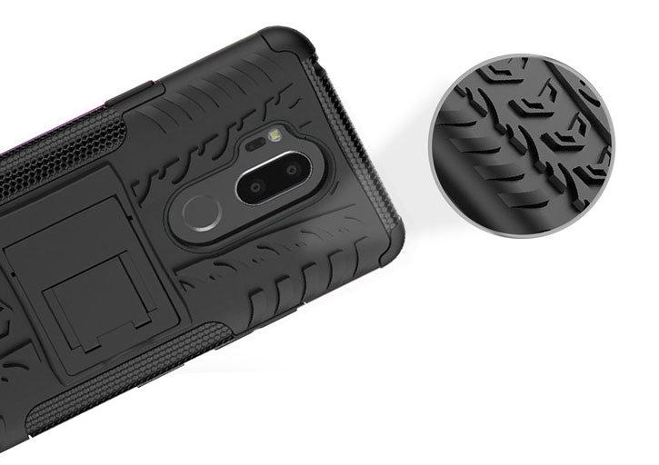 Olixar ArmourDillo LG G7 Protective Case - Black