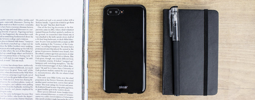 Olixar FlexiShield Huawei Honor 10 Gel Case - Solid Black