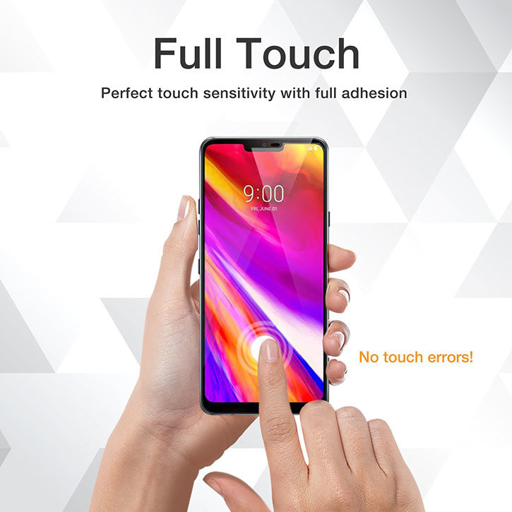 Whitestone Dome Glass LG G7 Full Cover Screen Protector
