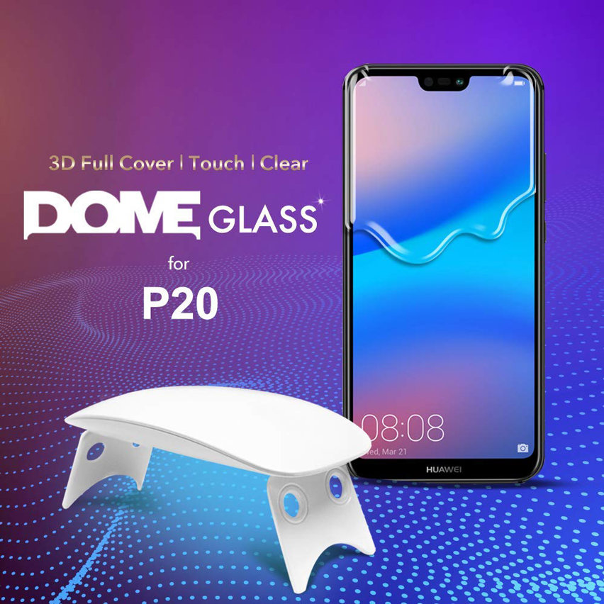 Whitestone Dome Glass Huawei P20 Full Cover Screen Protector