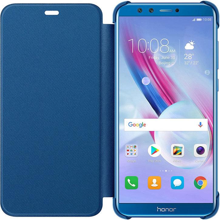 design di qualità 91efa 261c9 Official Huawei Honor 9 Lite Flip Cover Case - Blue