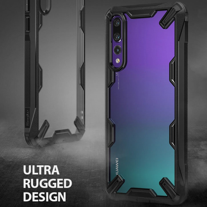 big sale ee58f 89f0d Ringke Fusion X Huawei P20 Pro Tough Case - Black