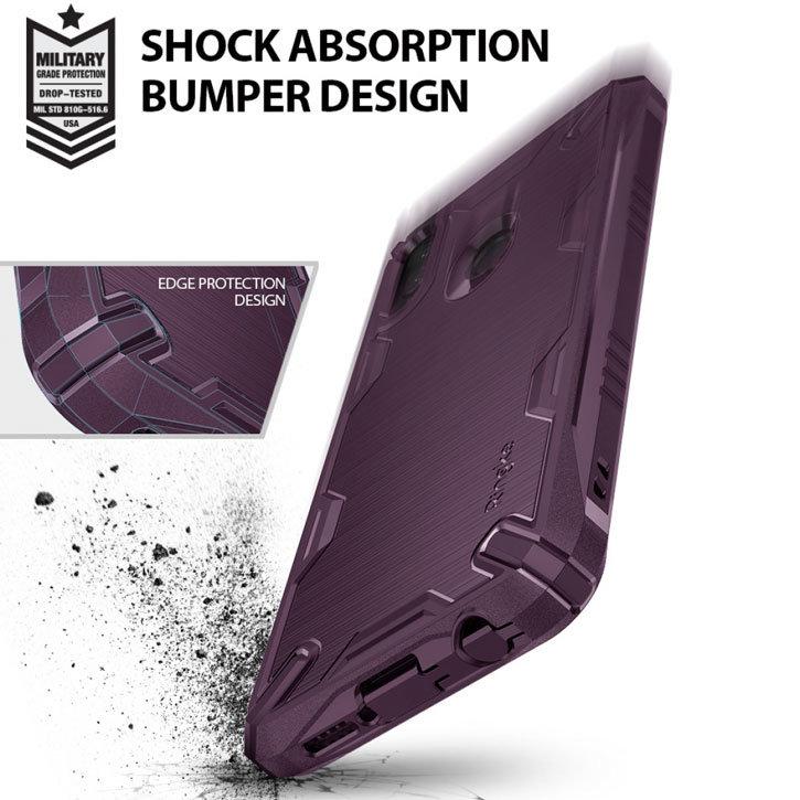 Rearth Ringke Onyx X Huawei P20 Lite Tough Case - Lilac Purple