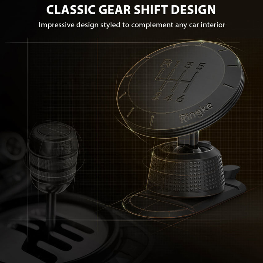 Ringke Magnetic Gear Car Mount Holder