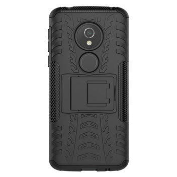 Olixar ArmourDillo Motorola Moto E5 Protective Case - Black