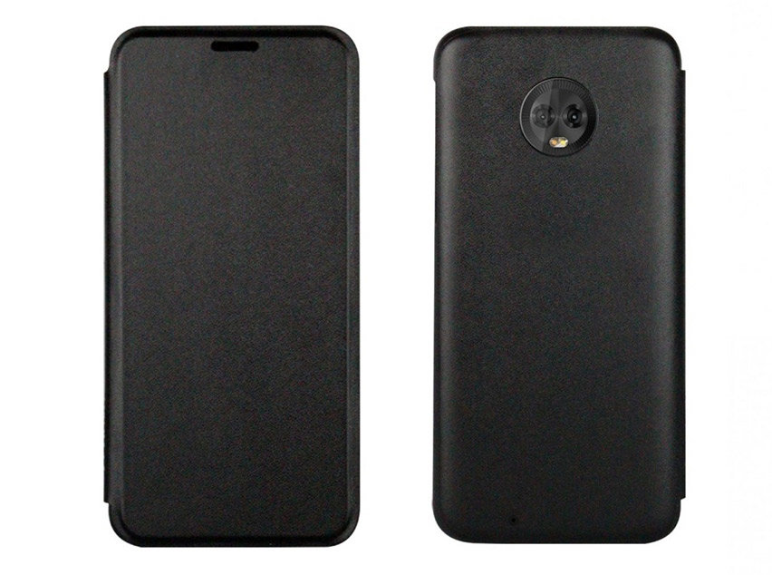Official Motorola Moto G6 Touch Flip Case - Grey
