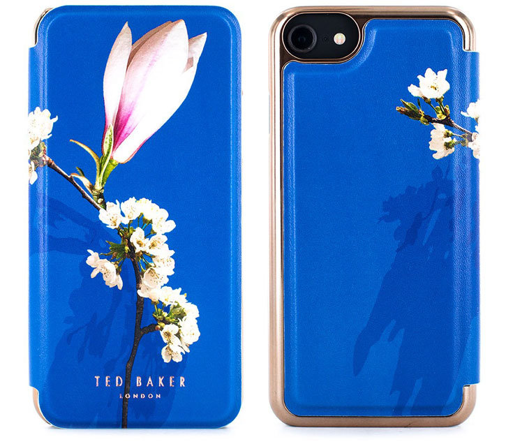 Ted Baker Bryony iPhone 7 Mirror Folio Case - Harmony Mineral