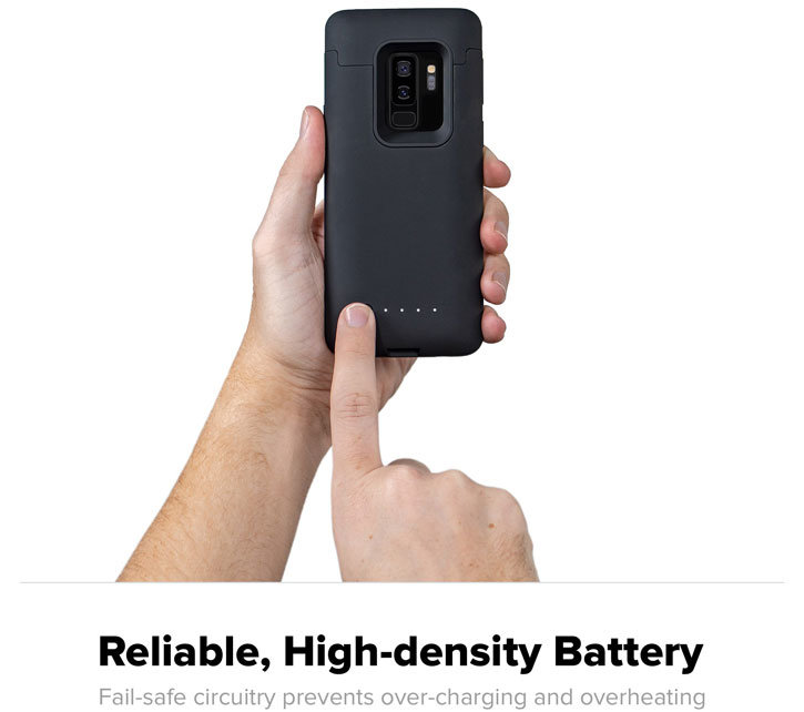 Mophie Samsung Galaxy S9 Plus Juice Pack Battery Case - Black