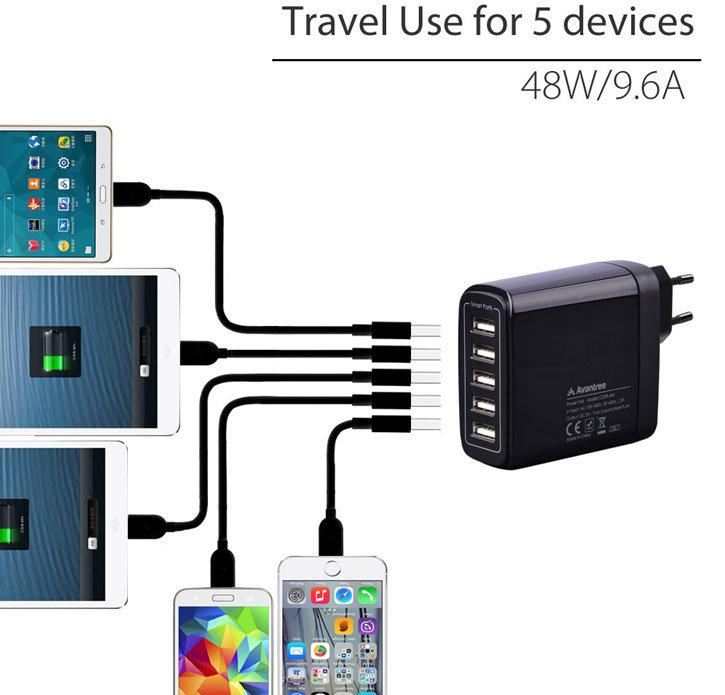 Mains Charger LG C1100, L1100, U8110, 8120 & 7050
