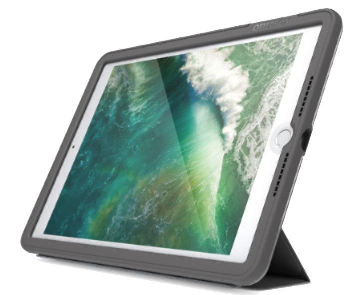 Coque iPad 9.7 2018 OtterBox UnlimitEd Folio avec rabat – Gris ardoise