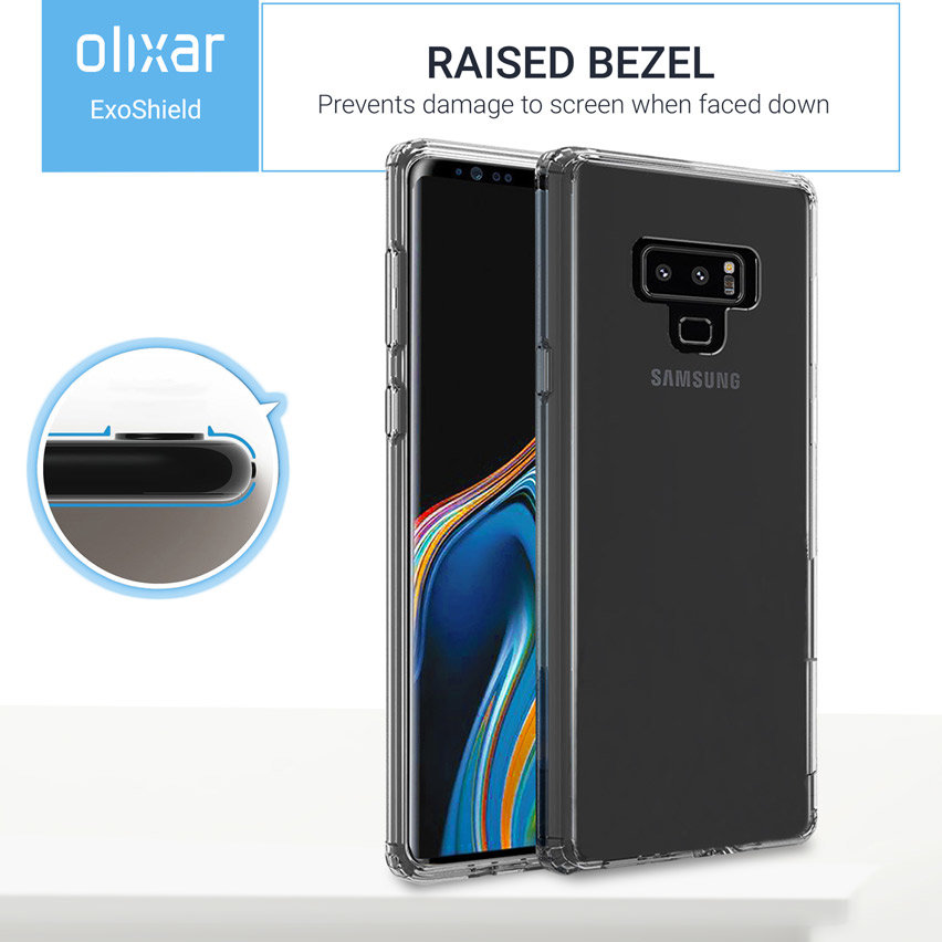 Olixar ExoShield Tough Snap-on Samsung Galaxy Note 9 Case - Clear