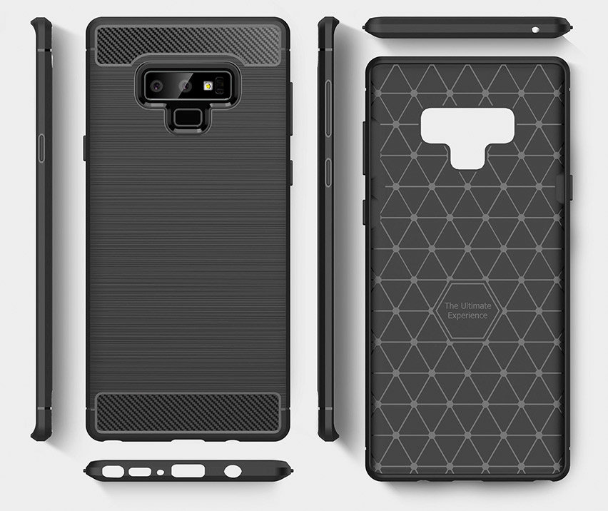 Olixar Sentinel Samsung Galaxy Note 9 Case and Glass Screen Protector