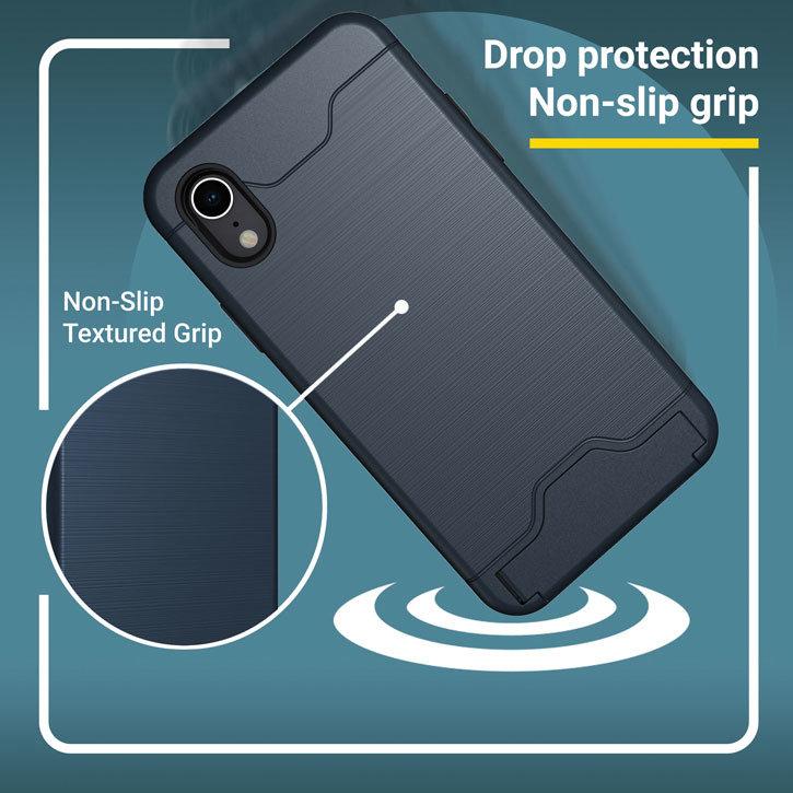 Olixar X-Ranger iPhone XS Plus Tough Case - Marine Blue