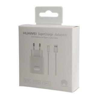 Chargeur secteur officiel Huawei SuperCharge avec câble USB-C – EU