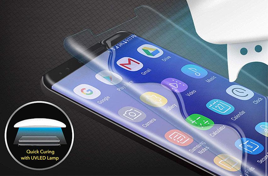 Whitestone Glass Samsung Note 9 Full Cover Screen Protector