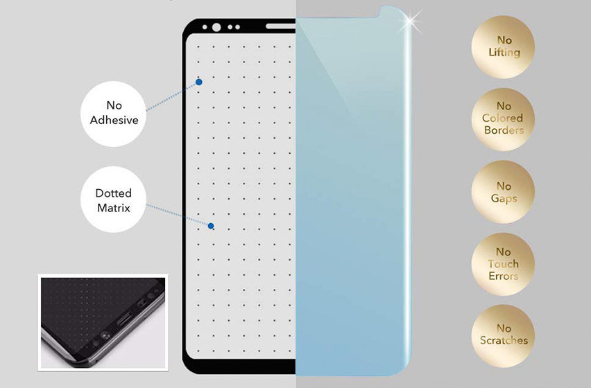 Whitestone Glass Samsung Note 9 Full Cover Screen Protector