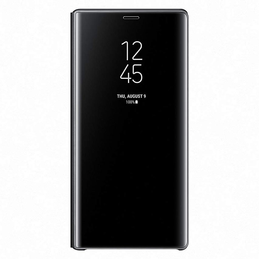 Official Samsung Galaxy Note 9 Clear View Standing Case - Black