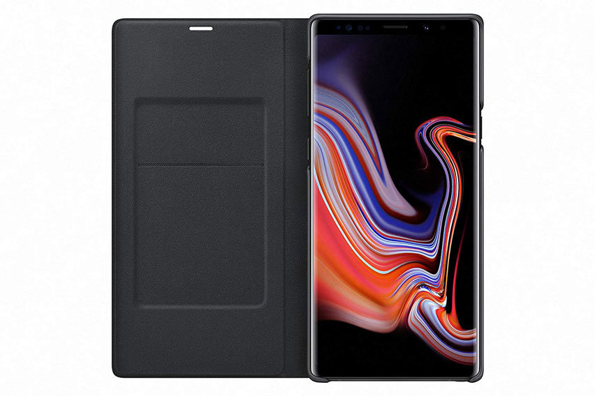 Official Samsung Galaxy Note 9 LED View Cover Case - Black