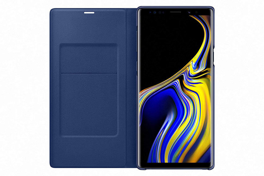 Offizielle Samsung Galaxy Note 9 LED View Cover Hülle - Blau