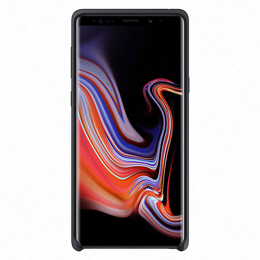 Official Samsung Galaxy Note 9 Silicone Cover Case - Black