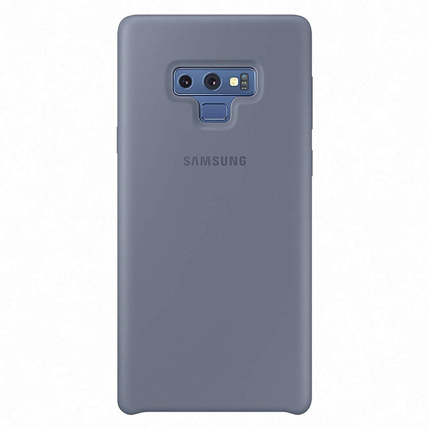 Official Samsung Galaxy Note 9 Silicone Cover Case - Blue