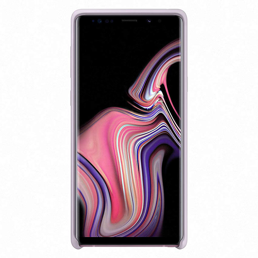 Official Samsung Galaxy Note 9 Silicone Cover Case - Lavender