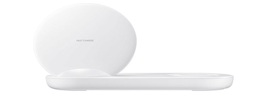 Official Samsung Galaxy Note 9 Super Fast Wireless Charger Duo - White