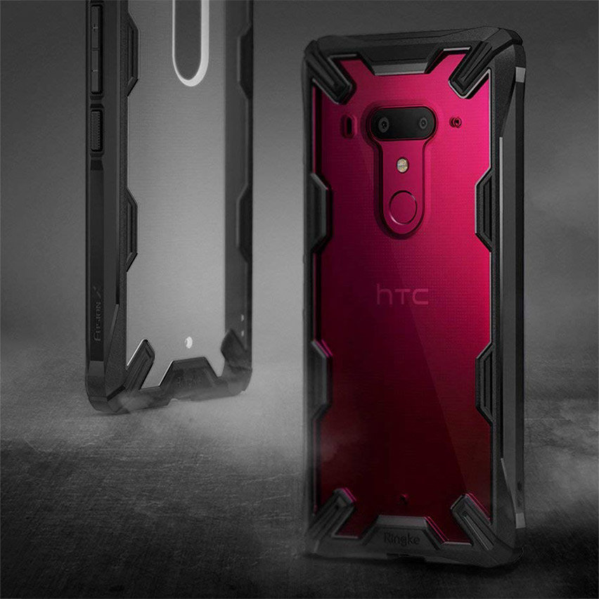 Ringke Fusion X HTC U12 Plus Case - Black