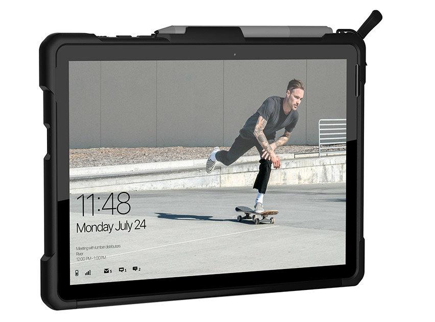 UAG Metropolis Series Microsoft Surface Go Folio Case - Black