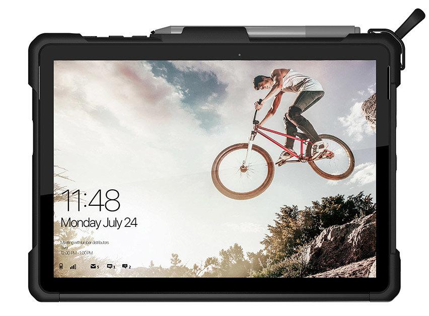 Uag Metropolis Series Microsoft Surface Go Folio Case Magma