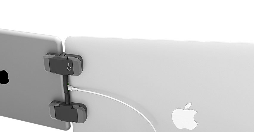 Ten One Design Mountie+ Universal Laptop Clip For Tablets - Grey