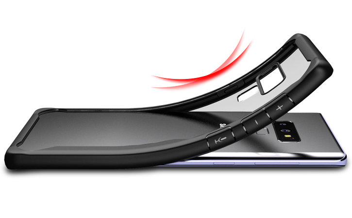 Olixar NovaShield Samsung Galaxy Note 9 Bumper Case - Black