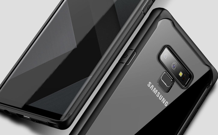 Olixar NovaShield Samsung Galaxy Note 9 Bumper Case - Black