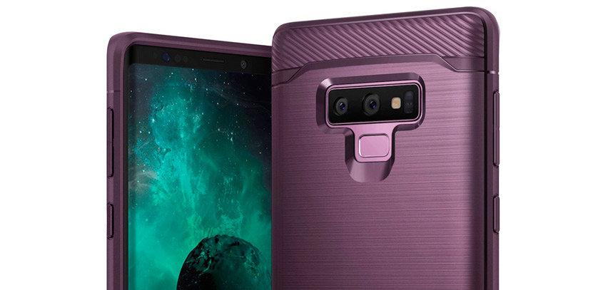 Rearth Ringke Onyx Samsung Galaxy Note 9 Tough Case - Lilac Purple