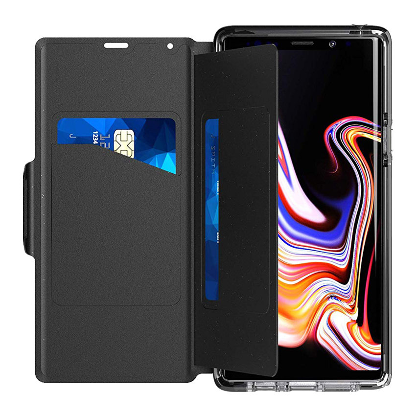 cheap for discount 24f05 49820 Tech21 Evo Wallet Samsung Galaxy Note 9 Case - Black