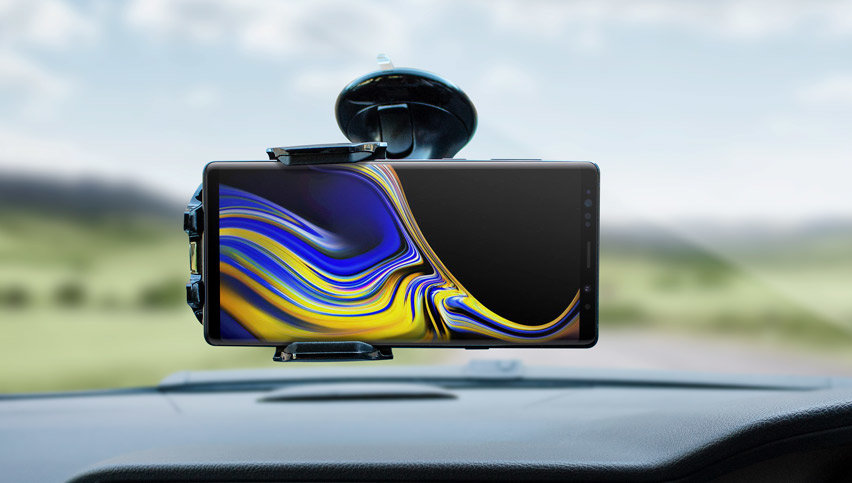 Official Samsung Galaxy Note 9 Vehicle Dock - Windscreen Mount
