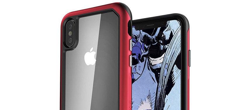 Ghostek Atomic Slim 2 iPhone XS Tough Case - Red